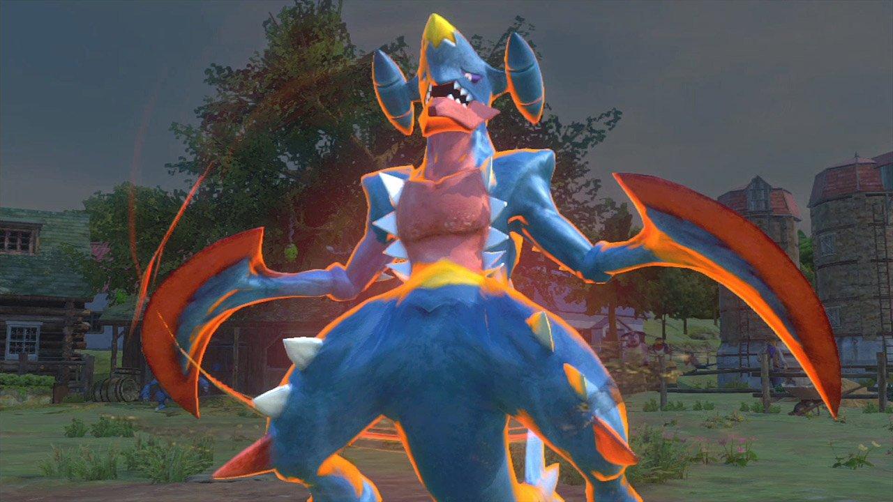 Pokk n tournament pre release screenshots - Mega carchacroc ...