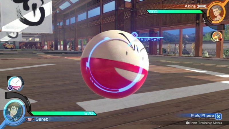Pokkén Tournament - Support Pokémon - Farfetch'd & Electrode