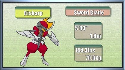 Blade Pokemon x The Sword Blade Pokémon