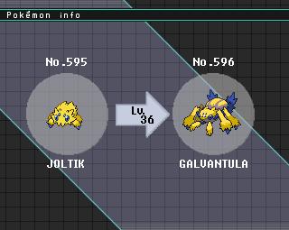 galvantula evolution - photo #2