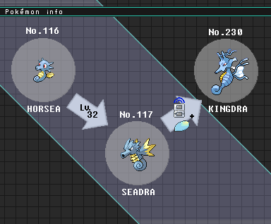 Kingdra evolution chart