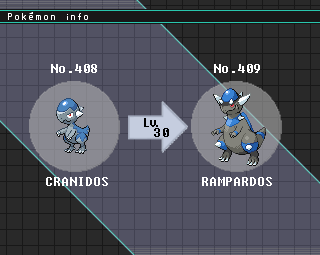 Cranidos Evolution  Pokemon Cranidos Evolution