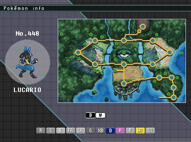 Pokemon Emerald Evolution Chart