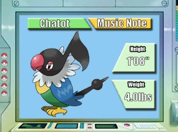 Pokémon of the Week - Chatot