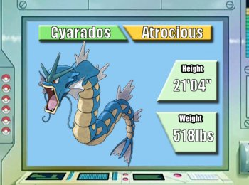 Image result for pokemon blue gyarados