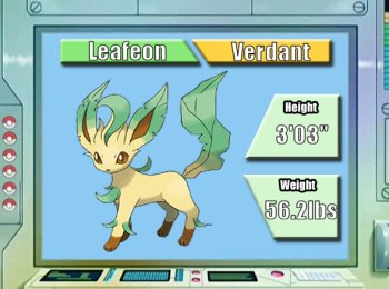 How To Evolve Eevee To Leafeon In Soul Silver