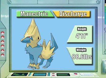pokémon of the week manectric