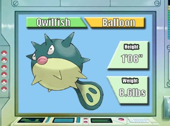 Pokémon of the Week - Qwilfish