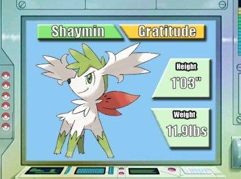 Pokémon of the Week - Shaymin Sky Forme