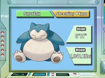 Pokémon of the Week - Snorlax