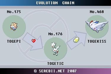 Togekiss Pokemon Evolution Images | Pokemon Images