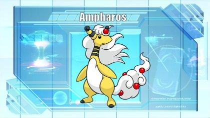 El Pokémon de la Semana 8: Ampharos MegaAmpharos