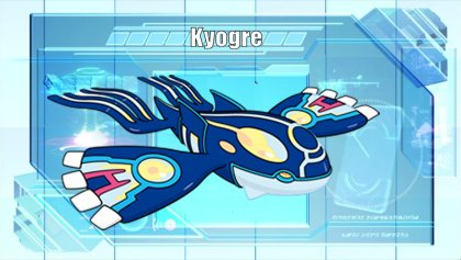 Primal Kyogre pokémon of the week - kyogre