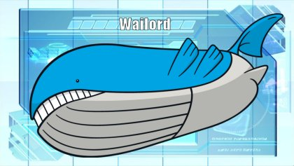 Pokémon of the Week - Wailord Wailord Pokemon