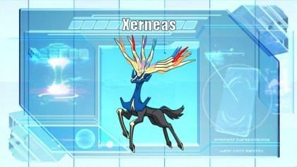 Xerneas Serebii