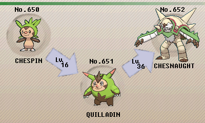 pokémon of the week chesnaught