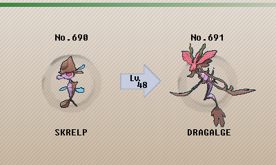 Shiny Skrelp Evolution