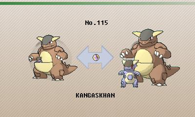 Shiny Kangaskhan X And Y