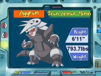 Aron - #304 - Serebii.net Pokédex