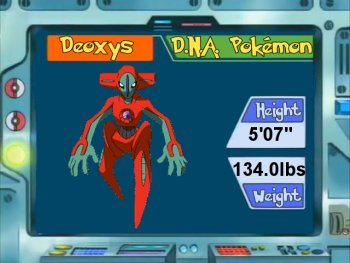 Pokémon of the Day - Deoxys Normal Form