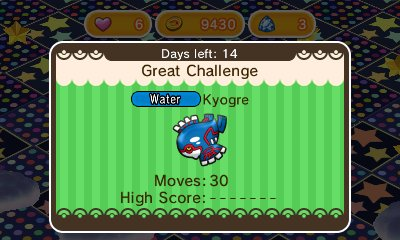 Kyogre Pokémon Shuffle