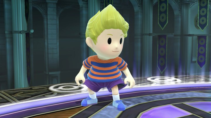 how to get lucas in super smash bros 3ds