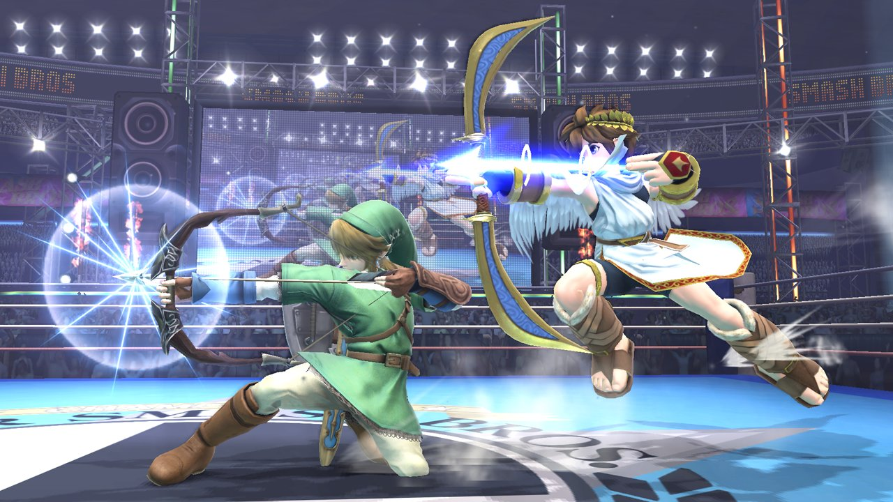 Super Smash Bros For Nintendo 3ds Amp Wii U Characters Link