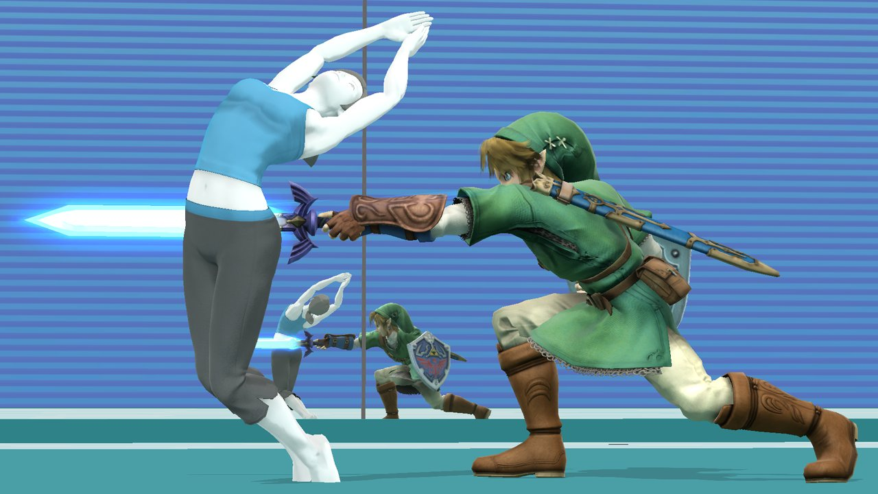 wiifit4 super smash bros for nintendo 3ds & wii u characters wii fit