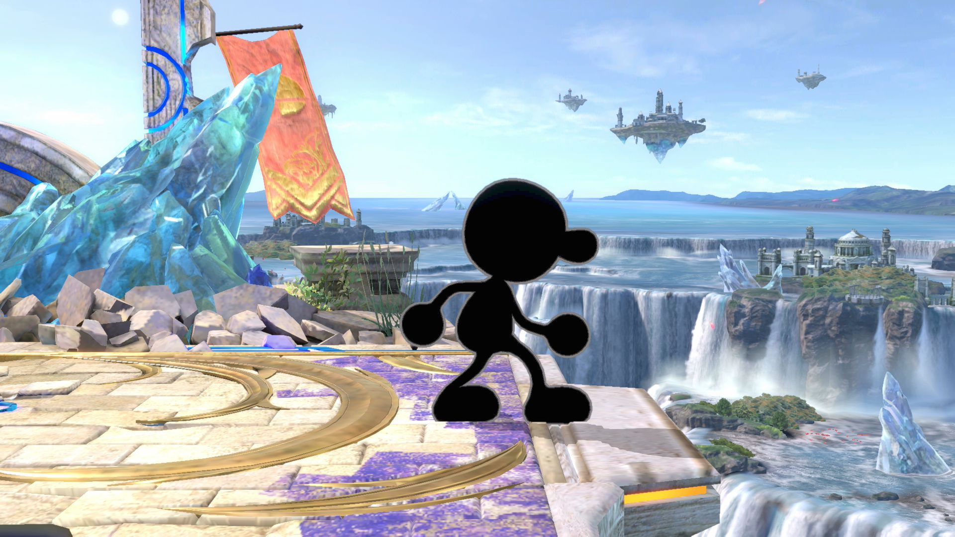 Mr Game And Watch Super Smash Bros Ultimate Serebii Net