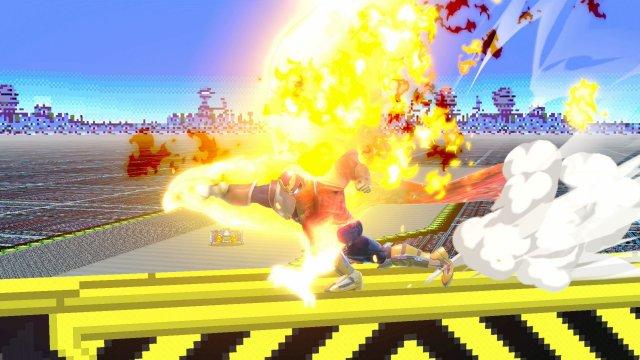 Captain Falcon - Super Smash Bros  Ultimate - Serebii net