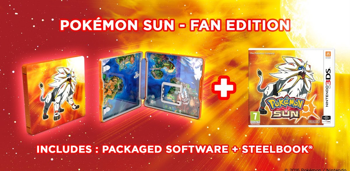 Video Games & Consoles Dutiful Pokemon Sun Steelbook