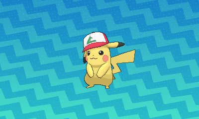 Thursday Pokémon Sun Moon Ash Cap Pikachu Distributions