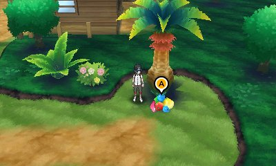 Pokémon Sun & Moon - Berry Trees