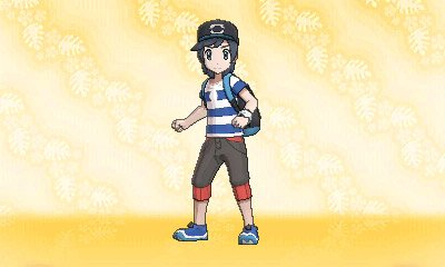 Pokemon Sun Moon Trainer Customisation