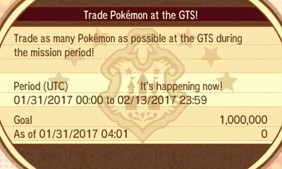 Pokémon Sun & Moon - Global Missions