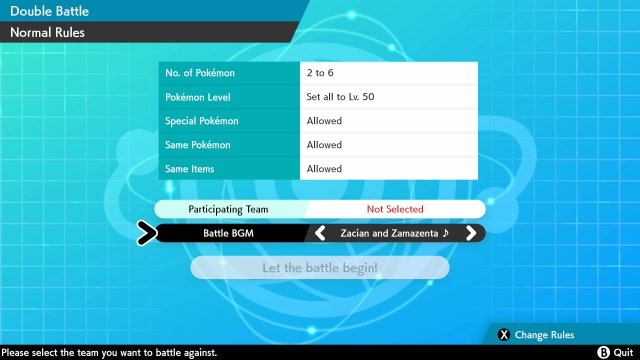 Pokemon Sword Shield Music Customisation