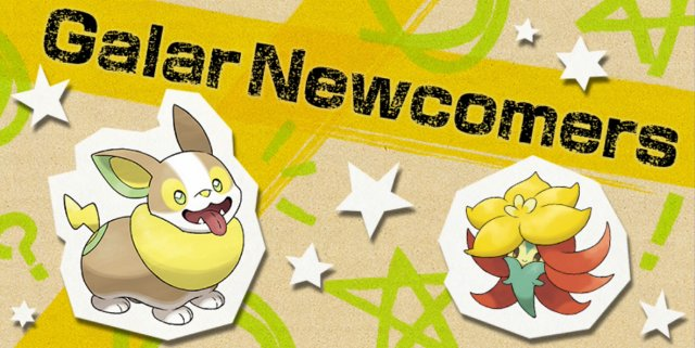 Galar Newcomers