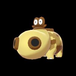 Hippowdon - #450 - Serebii.net Pokédex
