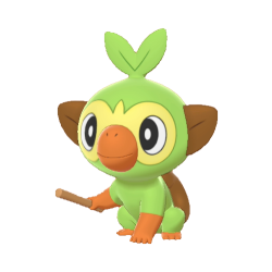 Grookey Pokemon – It is one of the three starter pokémon revealed for the core titles, pokémon sword and shield.