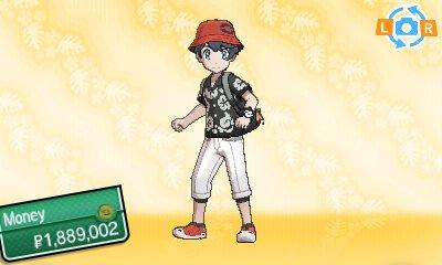 Pokémon Ultra Sun & Ultra Moon - Trainer Customisation