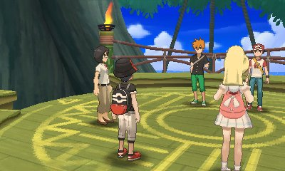 Pokemon Ultra Sun Ultra Moon Battle Tree