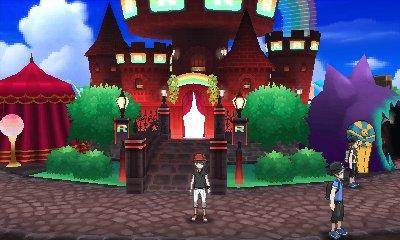 Pokémon Ultra Sun & Ultra Moon - Festival Plaza