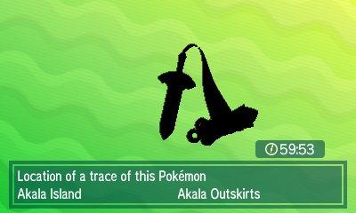 Pokémon Ultra Sun & Ultra Moon - Island Scan