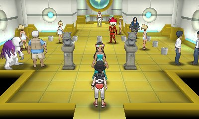 Pokémon Ultra Sun & Ultra Moon - Malie City Gym
