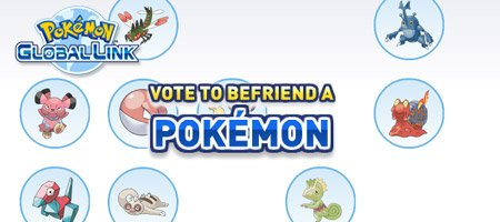 Pokémon Black & White - Global Link Vote