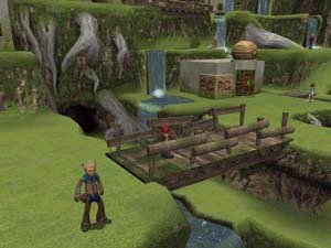 how to get to relic forest in pokemon colosseum