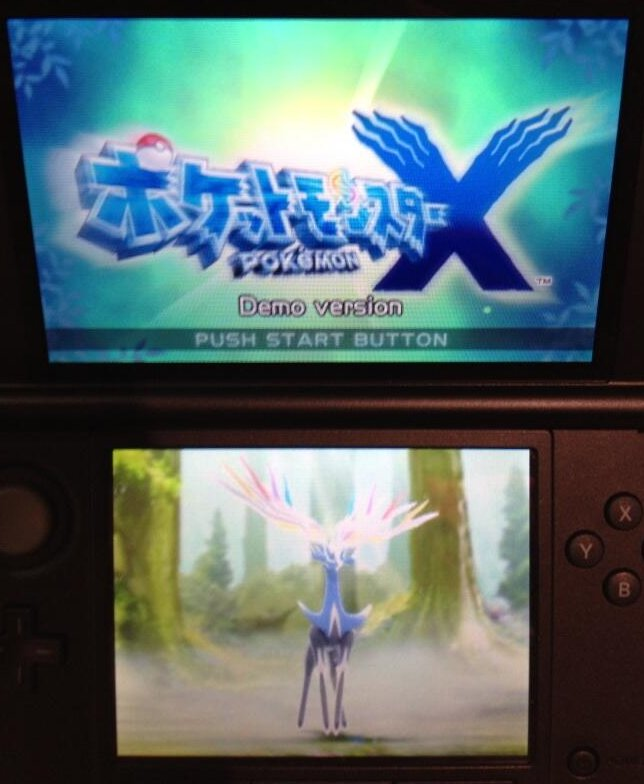 Pokemon X Title Screen