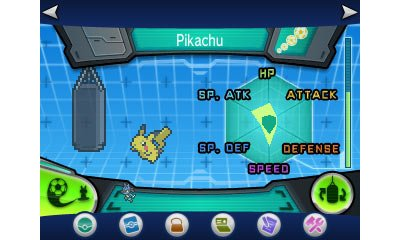 This Shows How Much Each Stat Has Increased And Along The Side More Training Pokémon Can Do