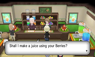 pokémon x y juice shoppe