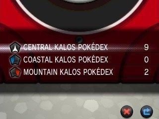 Pokémon X & Y - Kalos Pokédex